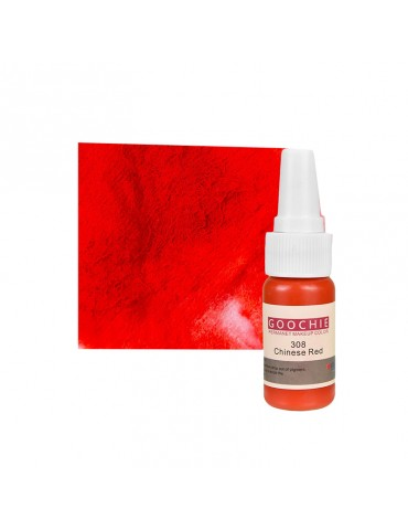 Pigment tatuaj semipermanent - GOOCHIE 308 - CHINESE RED