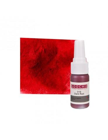 Pigment tatuaj semipermanent - GOOCHIE 319 - DARK RED