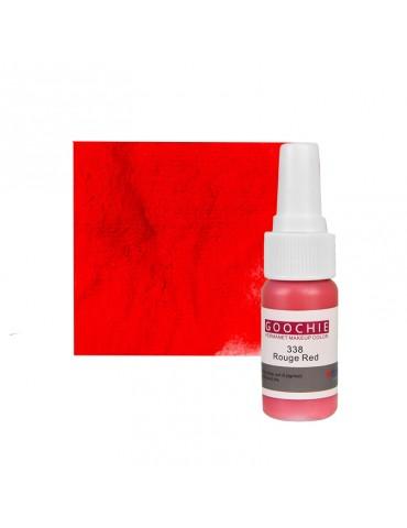 Pigment tatuaj semipermanent - GOOCHIE 338 - ROUGE RED
