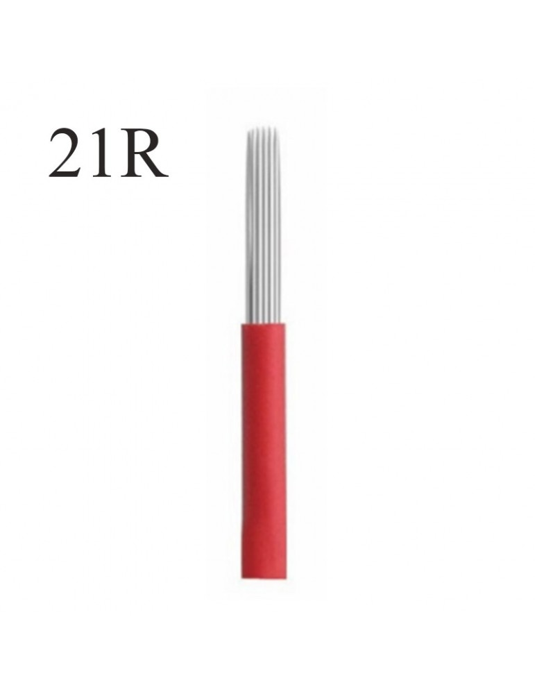 Ac pentru microblading - 21R - efect pudrat