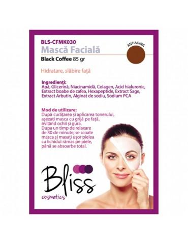 Mască facială cu cafea neagră
