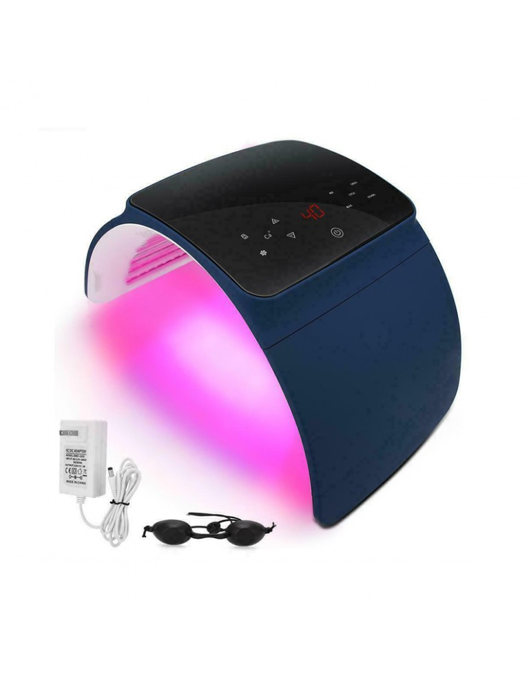 Aparat cosmetic facial fototerapie PDT cu LED