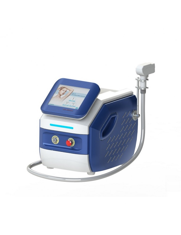 Aparat portabil de epilare definitivă cu diodă laser 3W