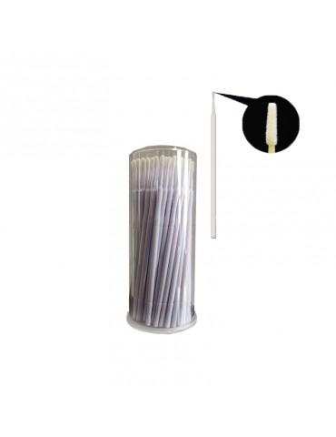 Bețișoare microbrush pentru gene false  - cylinder
