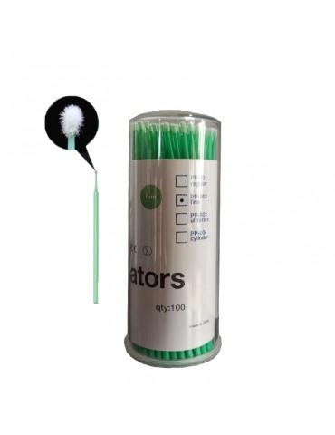 Bețișoare microbrush pentru gene false  - fine